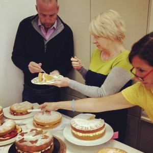 Cambridge Bake Off Judges
