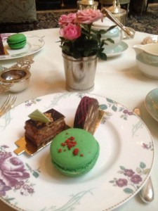 Tea at the Ritz Downton