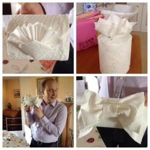 loo roll origami