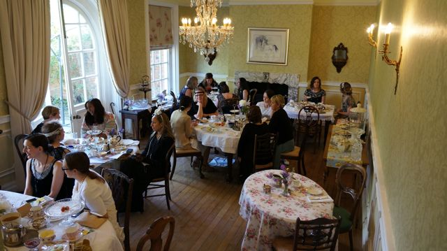 Downton Abbey Afternoon Tea At Byfleet Manor