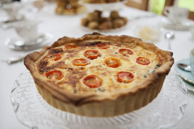 Rosedene Bakery Afternoon Tea Quiche Recipe