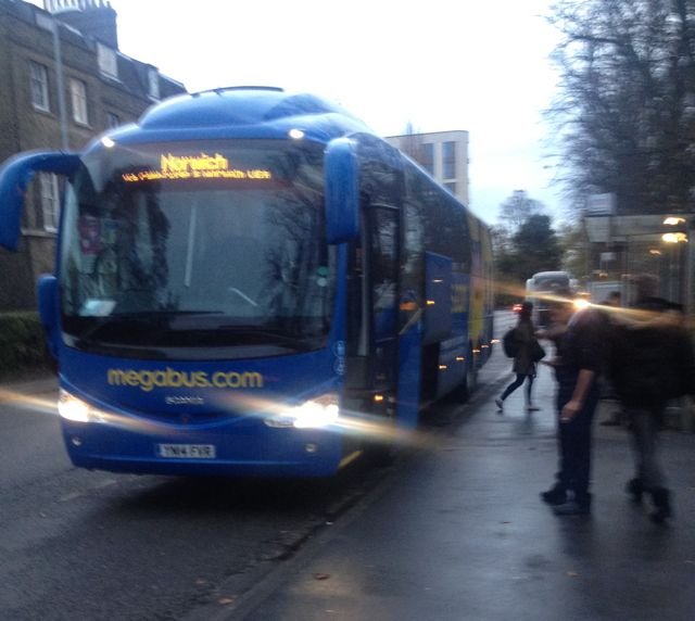 £2 Travel With Megabus and What To Do In Norwich