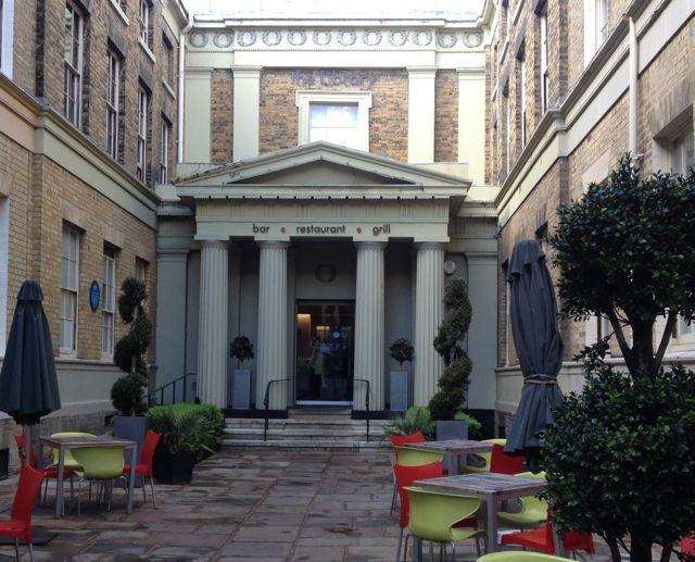 Library Restaurant Norwich Menu