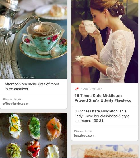 Dream Afternoon Tea: Brangelina & The Cambridges' Do Tea