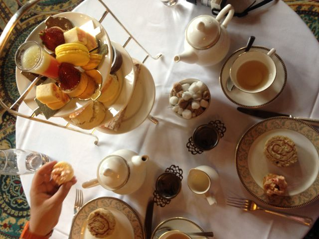 Review: Afternoon Tea At Hanbury Manor