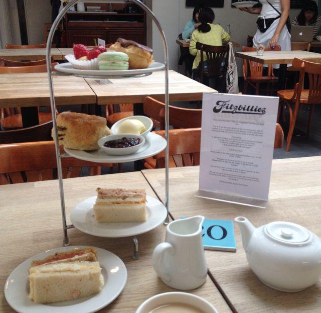 Afternoon Tea At Fitzbillies / A Tour Of Cambridge